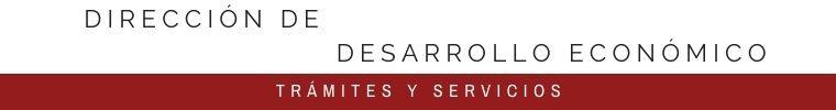 DIRECCIÓN DE DESARROLLO ECONÓMICO