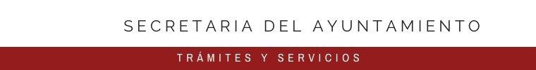 SECRETARIA DEL AYUNTAMIENTO